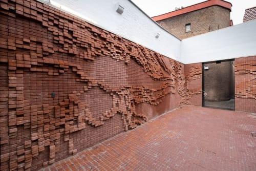 Architecture by STUDIO NICK ERVINCK seen at Mechelen, Mechelen - ANONOV, NONA - Mechelen, BE 2019