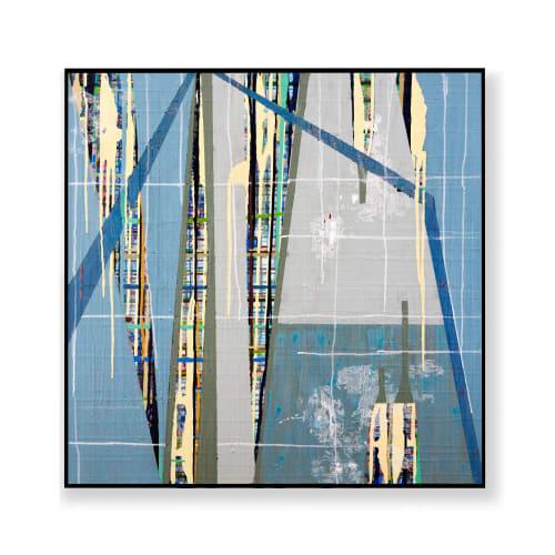 Paintings by Kari Souders seen at Creator's Studio, Bryn Mawr - Urban Grid N 23