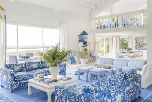 Interior Design by Meg Braff Designs at Private Residence, Sea Island - Interior Design