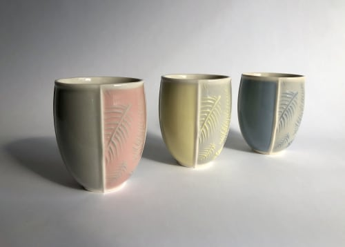 Cups by Matt Scott seen at Private Residence, Vancouver - Fern Cups