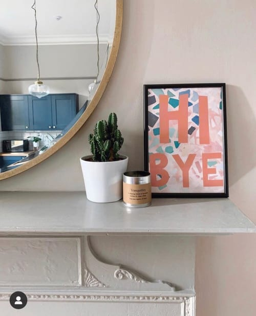 Art & Wall Decor by Mia Felce seen at Private Residence, Northampton - Hi Bye