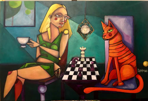 The Master and Margarita   Paintings by Daria Andrews