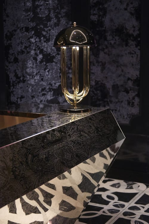 Lamps by Studio Munge seen at Bisha Hotel Toronto, Toronto - Custom Desk Lamp
