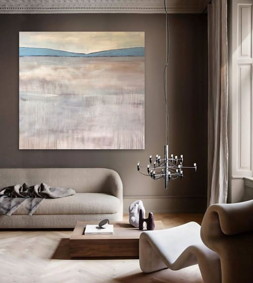 Paintings by Linnea Heide contemporary fine art seen at Creator's Studio, Asheville - 'THE PiONEER'