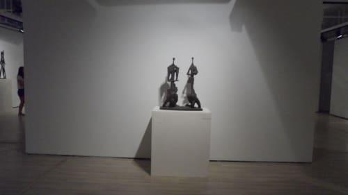 Public Sculptures by Won Lee seen at Beijing, Beijing - The Meditators-1M
