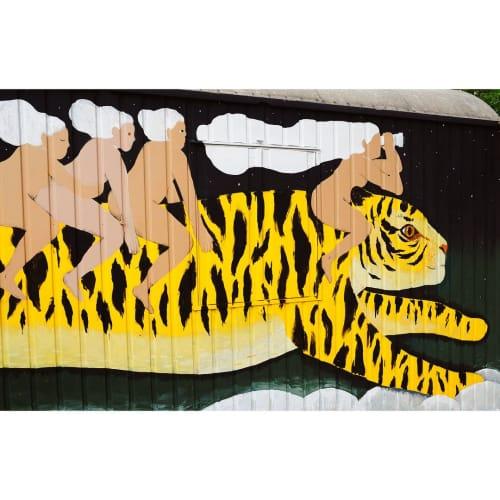 Street Murals by Max Grünfeld seen at Kassel, Kassel - Stay Wild