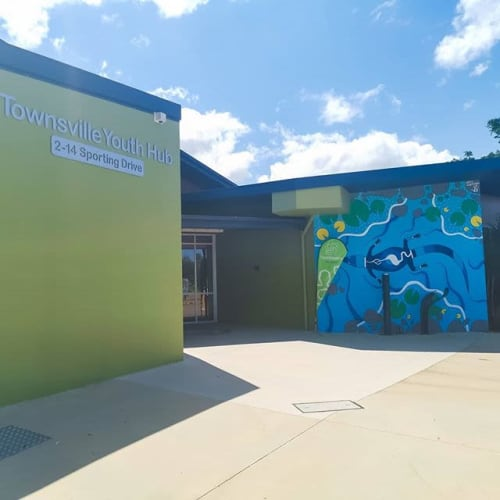 Street Murals by Bidju Designs seen at 14 Sporting Dr, Thuringowa Central - Freshwater