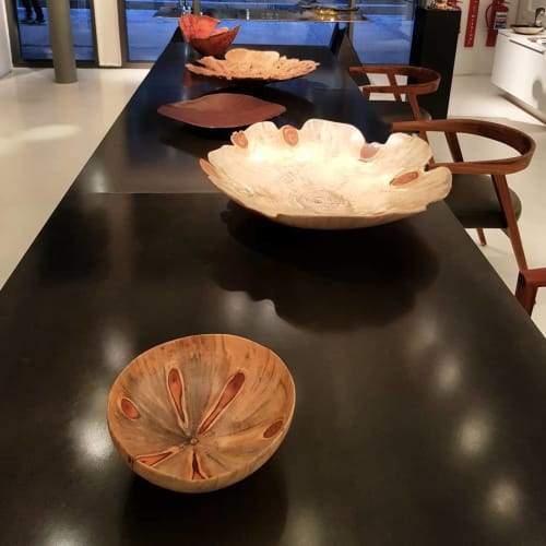 Art & Wall Decor by Rodney Band seen at Southern Guild, Cape Town - Hand-Turned Bowl in Norfolk Pine