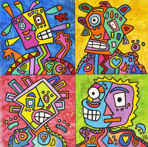 "Paintings by Pablo Benlliure seen at Private Residence, Mexico City - ""Alika"" (La más bella)"