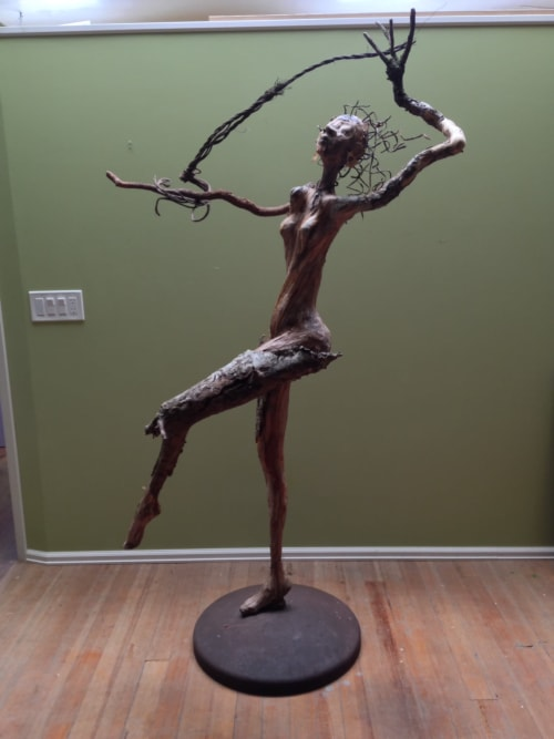 Sculptures by Pam Pappas seen at Private Residence, Manitou Springs - Willow