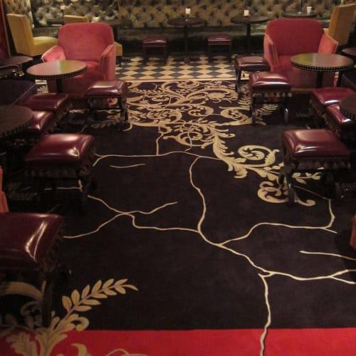 Rugs by TSAR Carpets seen at Rose Bar, New York - Rose Bar Rug