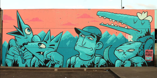 Mike Maese - Art and Street Murals