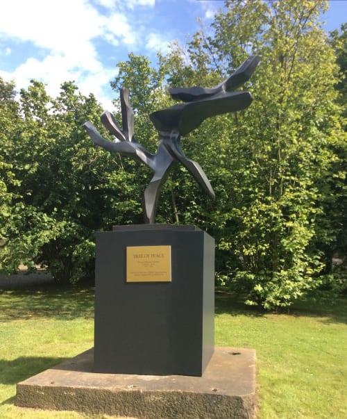 Public Sculptures by Hedva Ser seen at Berlin, Berlin - Tree of Peace