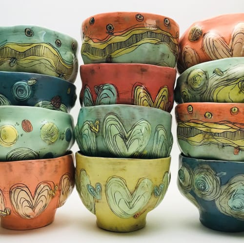 Megs LeVesseur Ceramics - Cups and Tableware