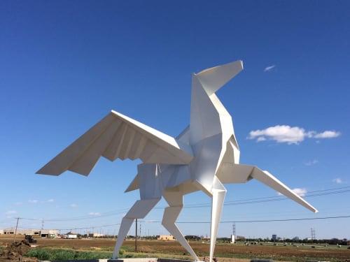 Public Sculptures by KevinBoxStudio. at Dallas, Texas, USA, Dallas - Hero's Horse Monument