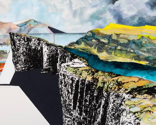 Paintings by Noelle Phares at Private Residence, Denver - Archipelago
