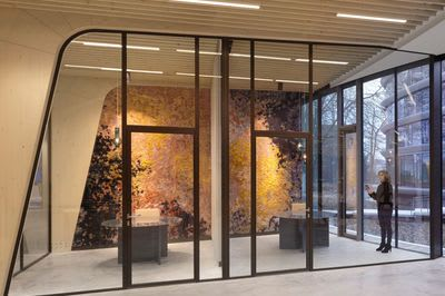 """Architecture by Claudy Jongstra seen at Triodos Bank Netherlands, Driebergen-Rijsenburg - """"Tribute to the Planets"""" Project"""