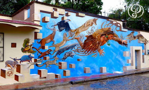 Ruben Poncia - Murals and Art