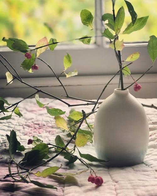 Vases & Vessels by Katie Robbins seen at Private Residence, Birmingham - 'Santorini' Bud-vase