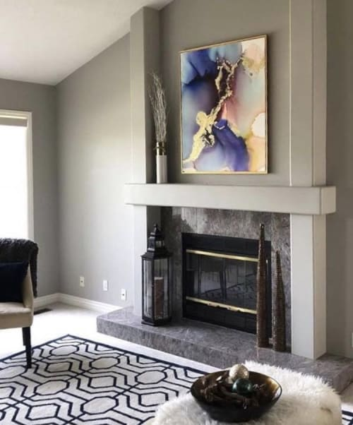 Paintings by BRIAR WEST seen at Private Residence, Salt Lake City - Atria