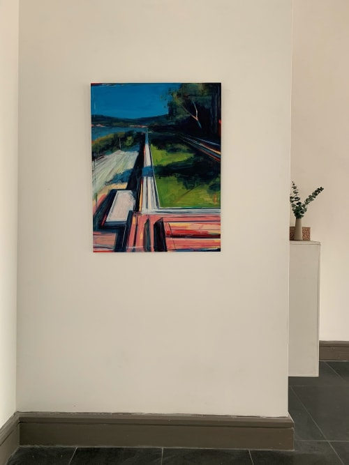 Paintings by Tom Voyce seen at Private Residence, Repton - Broad Bay 2