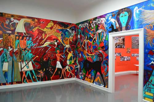 Alaa Awad - Murals and Street Murals