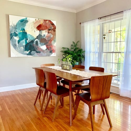 """Paintings by Pamela J. Black seen at Private Residence, Dillsburg - Painting: """"We'll Try Harder Tomorrow"""""""