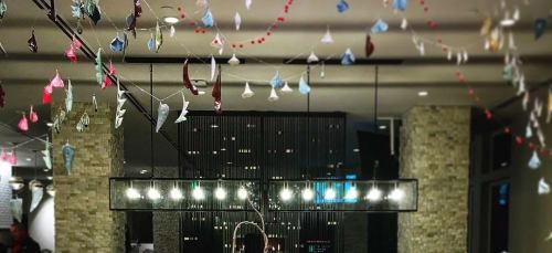Sculptures by Jeanne Quinn at Embassy Suites by Hilton Boulder, Boulder - Floral Porcelain Curtain