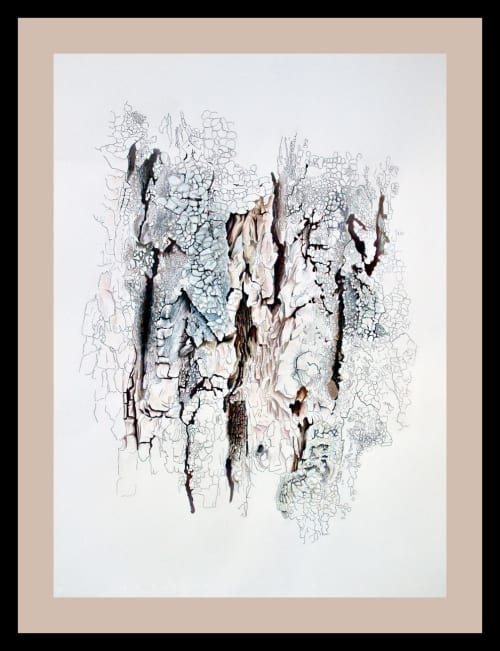 Paintings by Janna Kumi Fine Art seen at Vancouver General Hospital, Vancouver - Old Cottonwood - Kelowna