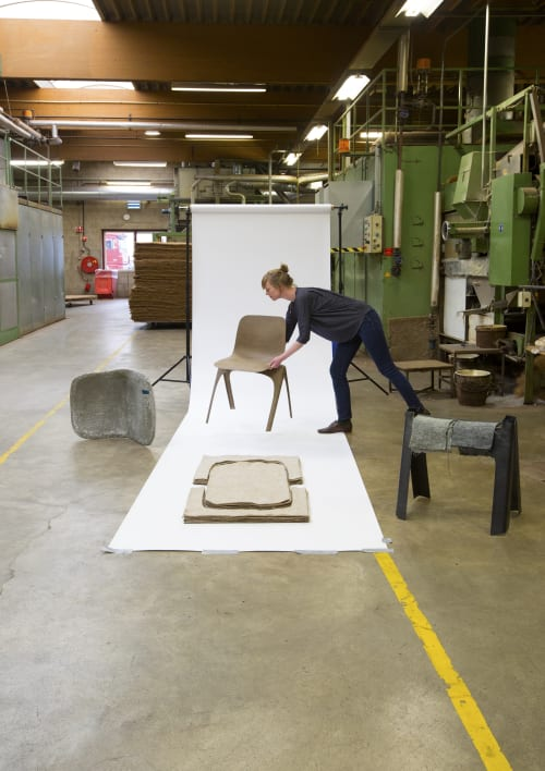 Chairs by LABEL / BREED at LABEL / BREED Studio, Amsterdam - Flax chair