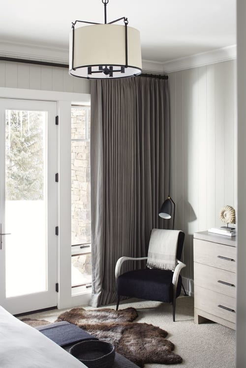 Linens & Bedding by La Maison Pierre Frey seen at Private Residence, Aspen, Aspen - Linens & Bedding