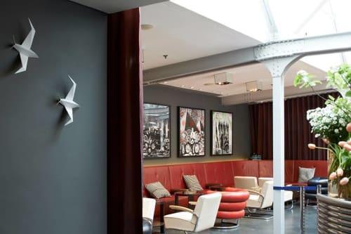 Wall Hangings by Condie Design seen at Bluebird Chelsea, London - Condie Design