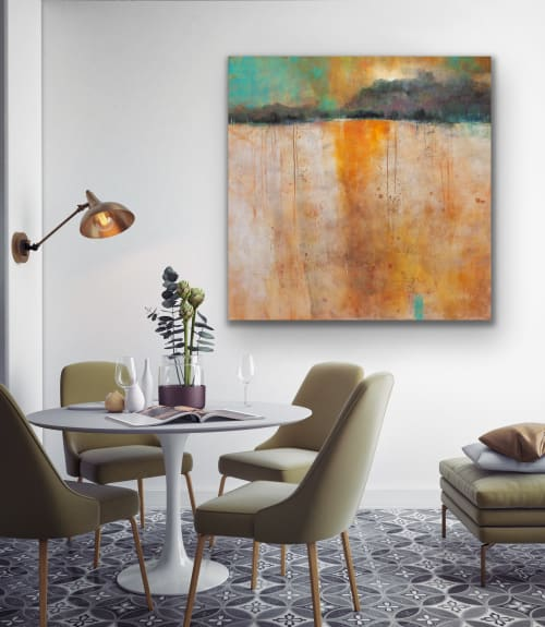Paintings by Pamela K Beer Contemporary Fine Art seen at Creator's Studio, Sammamish - The Moments That Count