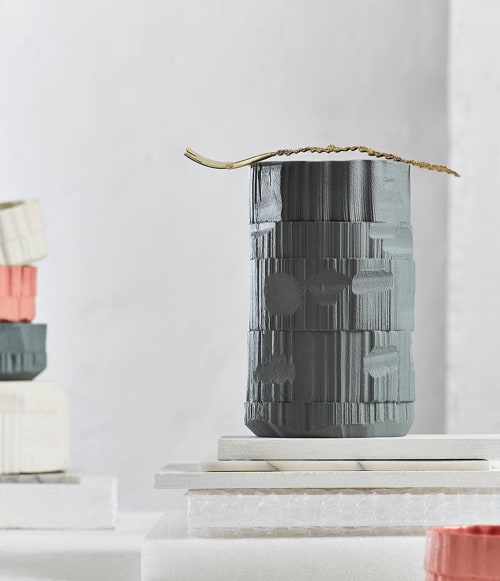 Vases & Vessels by Natascha Madeiski seen at Private Residence, London - 'Anfractuous'  i