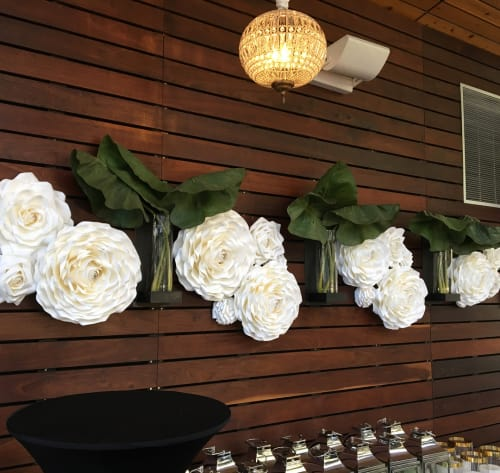 Art & Wall Decor by My Sparkled Life at The Grove, Houston - Paper Flowers