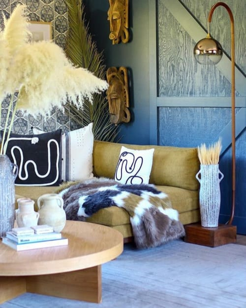 Pillows by küdd:krig HOME seen at Private Residence, Sonoma - Kaiyo Pillows