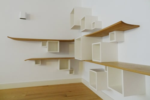 Art & Wall Decor by Tim van Caubergh seen at Private Residence, Amsterdam - SQUARES & CURVES Cabinet
