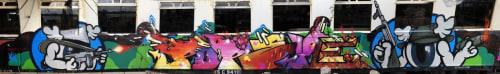 Pop Eye - Street Murals and Public Art
