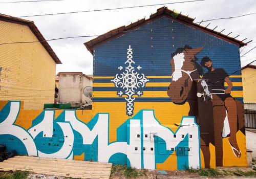 Comum - Street Murals and Murals