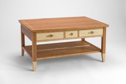 Tables by Ogelby Woodworks seen at Private Residence, Newtown - Ritter Kin Coffee Table
