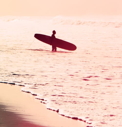 Photography by Kristin  Hart  Studios seen at Santa Monica Beach, Santa Monica - SURF - CORAL   2