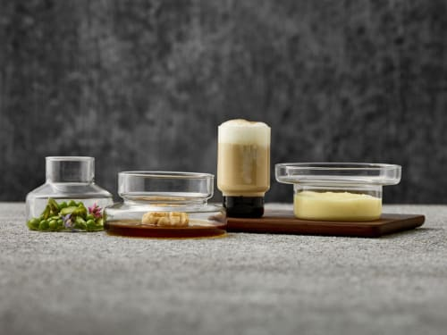 Tableware by Mieke Cuppen seen at Playground Showroom, Selb - Amuse Tower