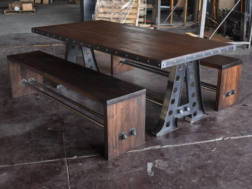 Vintage Industrial - Tables and Furniture