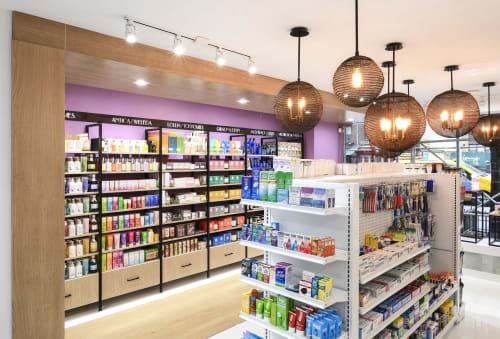Interior Design by studioBIG seen at Upper East Chemists - Pharmacy, New York - Upper East Chemists