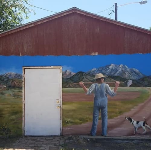 Murals by Jolynn Jeppson Forman seen at Private Residence, Payson - mural