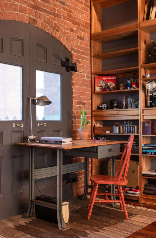 Furniture by Christian Thomas Designs at Private Residence, Providence, Providence - INDUSTRIAL DESK