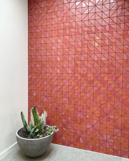 Tiles by Concreteworks seen at Heath Ceramics, San Francisco - Tile and Planter
