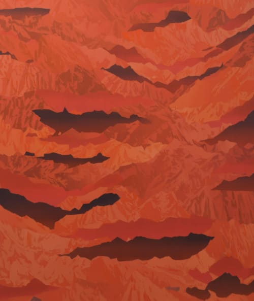 Paintings by Beau Carey seen at Richard Levy Gallery, Albuquerque - Drift