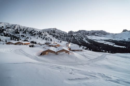 Architecture by noa* network of architecture seen at Zallinger - Zallinger: A scattered Hotel at high altitude