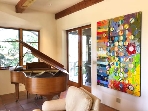 Paintings by Jylian Gustlin at Private Residence - Fibonacci 372